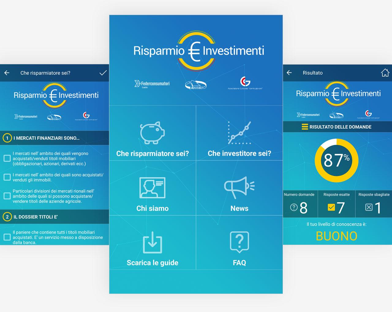 App Risparmio € Investimenti by federconsumatori